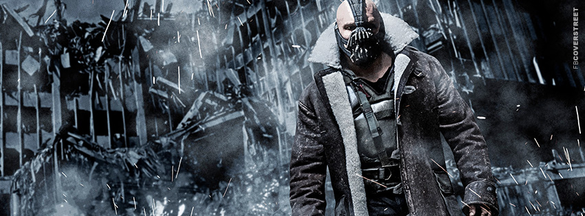 Bane Collapsing Building Facebook cover