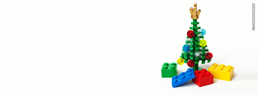 Lego Christmas Tree  Facebook Cover