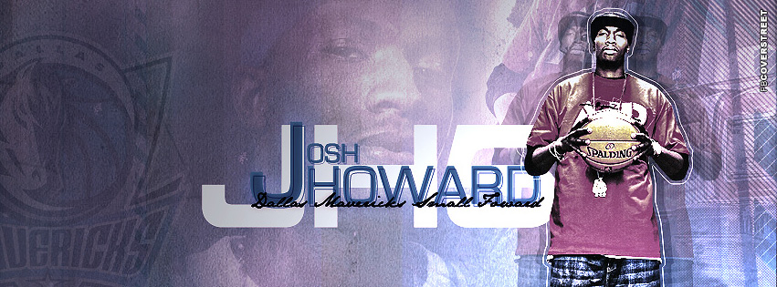 Dallas Mavericks Josh Howard  Facebook cover