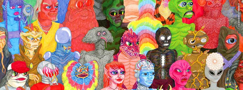 Strange Aliens  Facebook cover