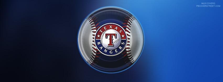 Texas Rangers Baseball Logo Facebook Cover