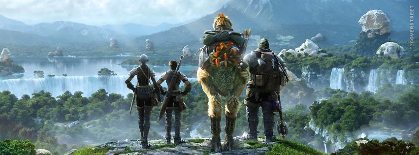 Final Fantasy XIV Cover  Facebook cover