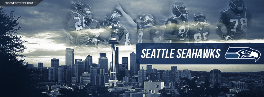Seattle Seahawks Skyline Facebook cover