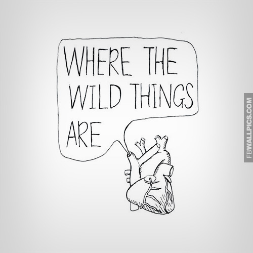 Where The Wild Things Are Heart Art Facebook picture