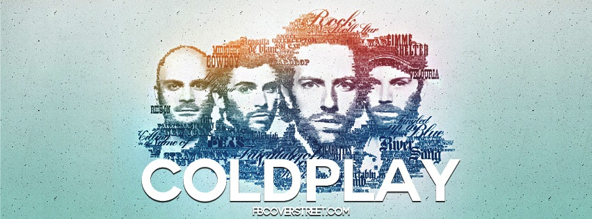Coldplay 3 Facebook Cover
