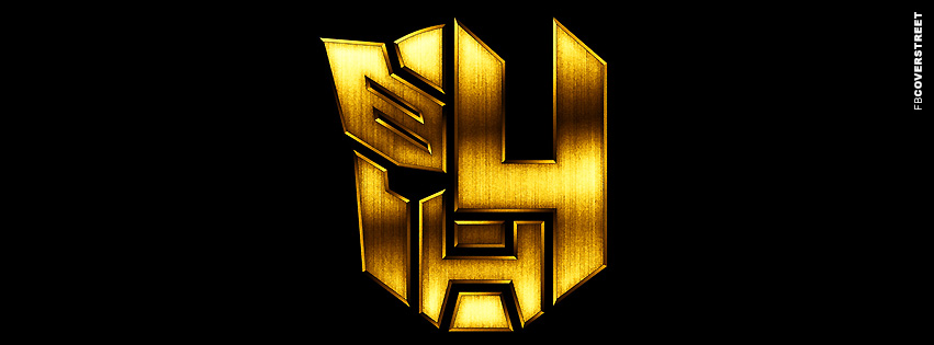 Transformers 4 The Age of Extinction Symbol  Facebook Cover