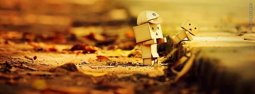 Cute Autumn Macro Photo  Facebook cover