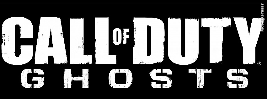 Call of Duty Ghosts Large Logo  Facebook cover