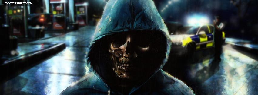 Skeleton Person Facebook Cover