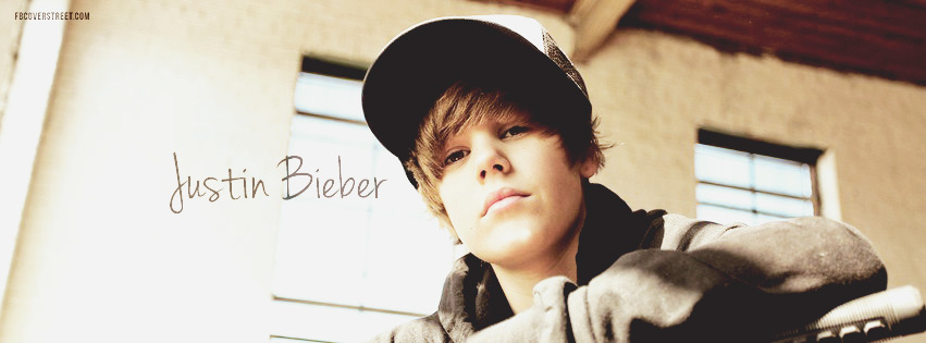 Justin Bieber Young 3 Facebook cover