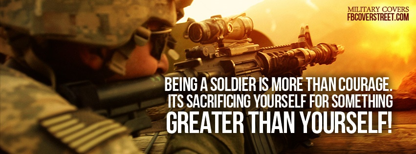 Soldier Sacrifice 1 Facebook Cover