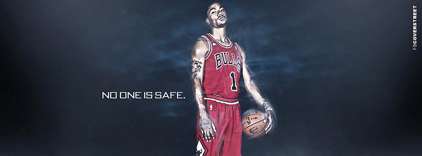 de845cf41150 Chicago Bulls Derrick Rose Noone Is Safe Facebook cover