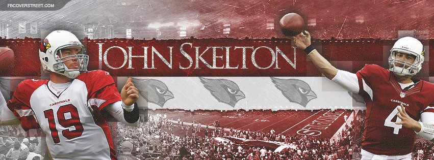 John Skelton Arizona Cardinals Quarterback Facebook cover