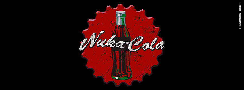 Nuka Cola Fallout Beverage  Facebook Cover