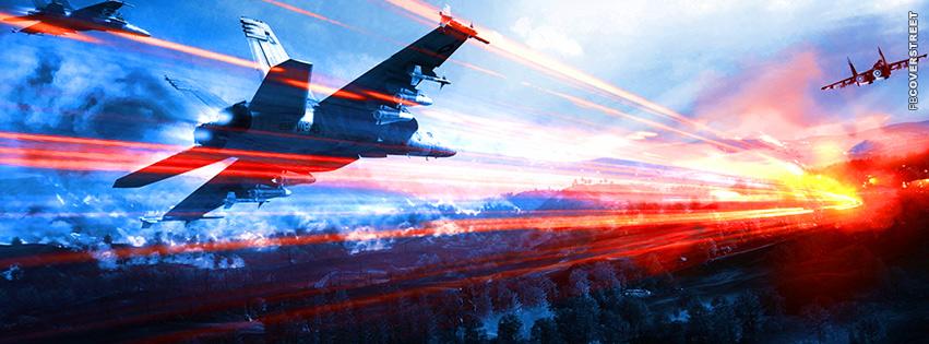Battlefield 3 Aerial Assault  Facebook Cover