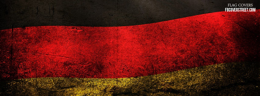 Germany Flag 2 Facebook Cover