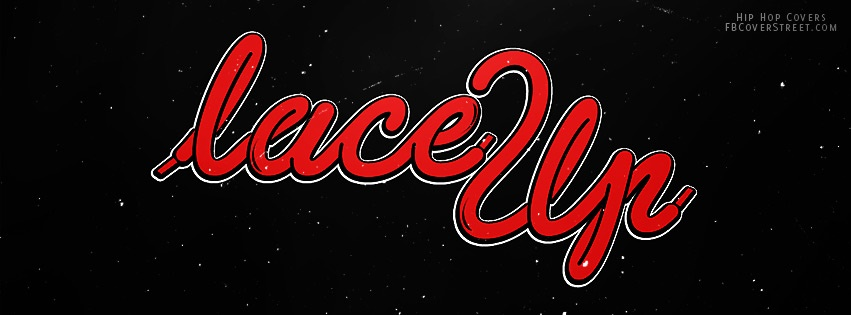 Lace Up Machine Gun Kelly Red Facebook cover