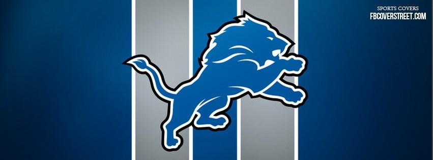 Detroit Lions Logo 2 Facebook Cover
