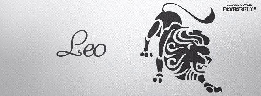 Leo Symbol 1 Facebook Cover