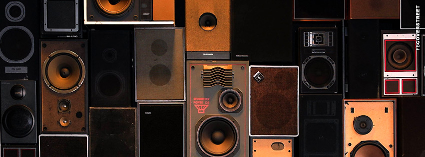 Speaker Wall  Facebook cover