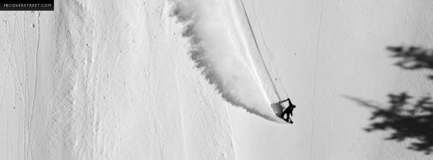 Shralping Some Powder Snowboarding  Facebook cover
