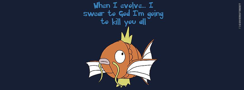 Magikarp Pokemon Evolution Massacre  Facebook cover