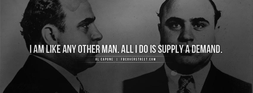 Al Capone Supply A Demand Facebook Cover