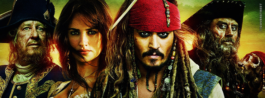 Pirates of the Caribbean Cover 4  Facebook cover