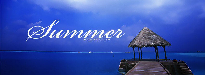 Summer Ocean View Facebook cover