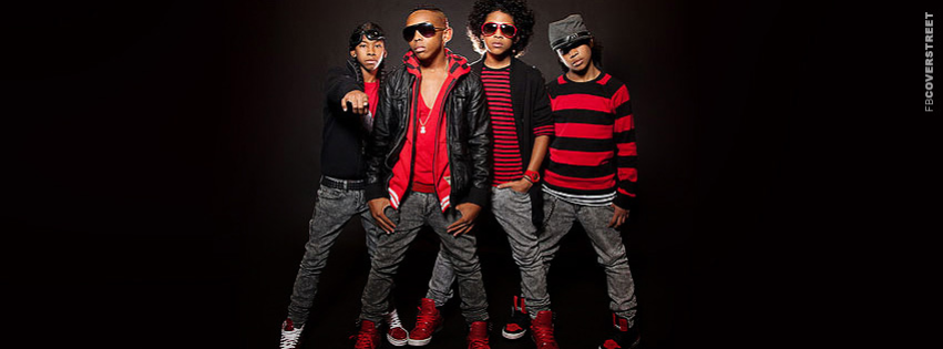 Mindless Behavior Band  Facebook cover