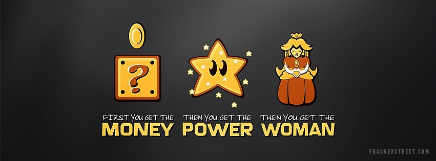 Money Power Woman Facebook Cover