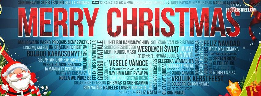 Merry Christmas 5 Facebook Cover