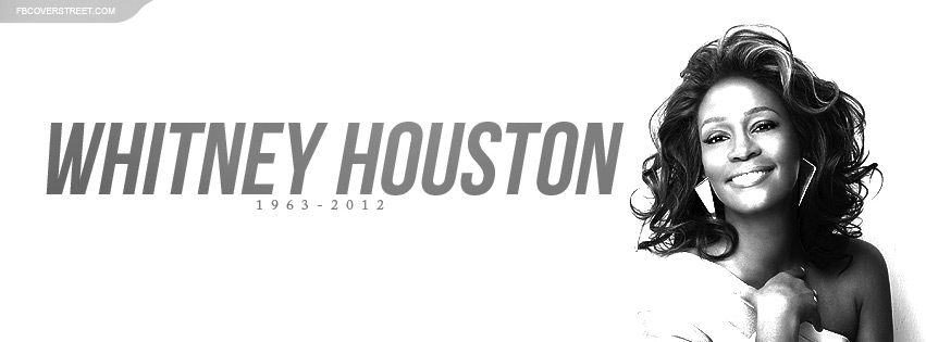 Whitney Houston Facebook Cover