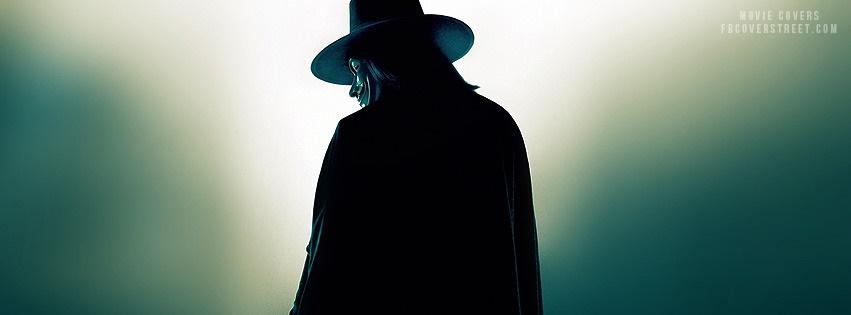 V For Vendetta Facebook Cover
