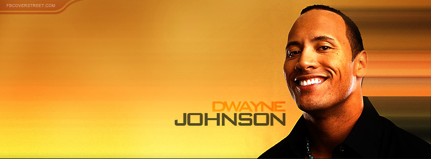 Dwayne Johnson Facebook Cover