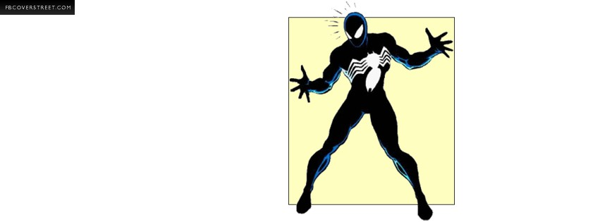 Venom Super Villian  Facebook cover
