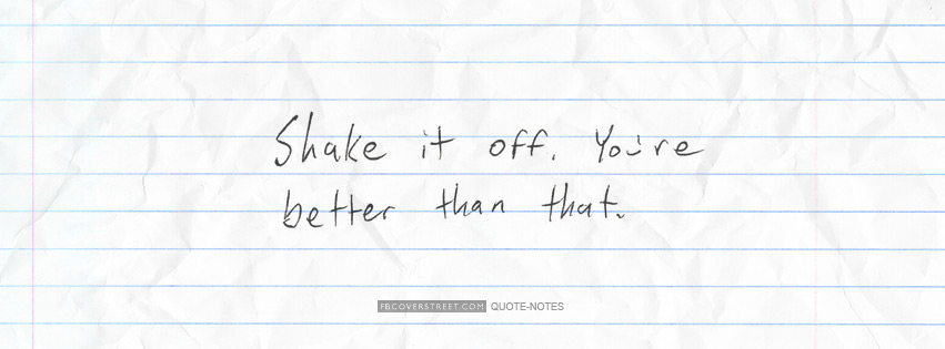 Shake It Off Facebook cover