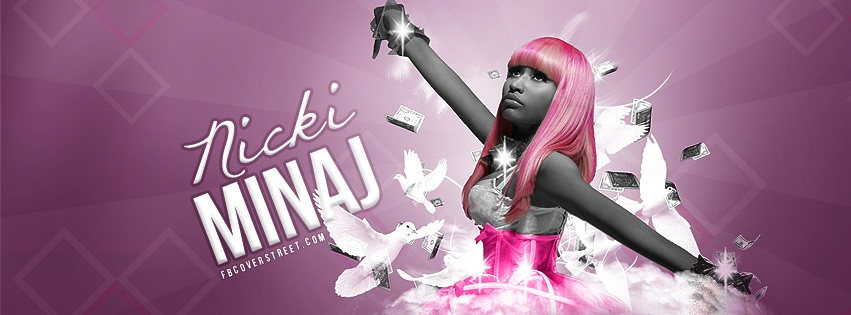 Nicki Minaj 8 Facebook Cover