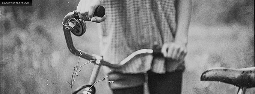 Vintage Bicycle Photo  Facebook cover