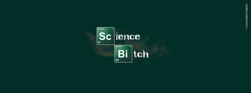 Science Bitch Breaking Bad  Facebook Cover