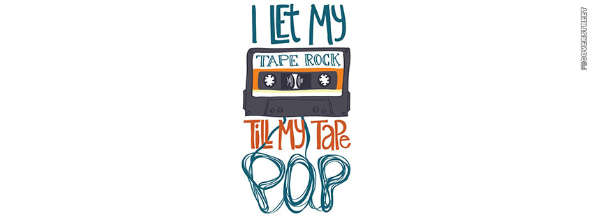 Till My Tape Pop  Facebook cover