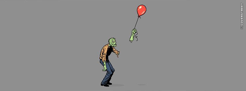 Zombie Balloon  Facebook Cover