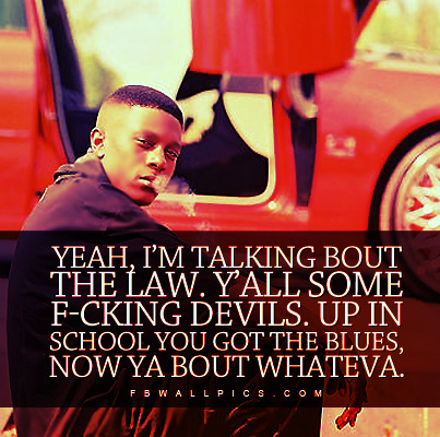 Lil Boosie Law Devils Quote Facebook picture