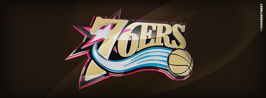 Philadelphia 76ers Modern Logo  Facebook cover