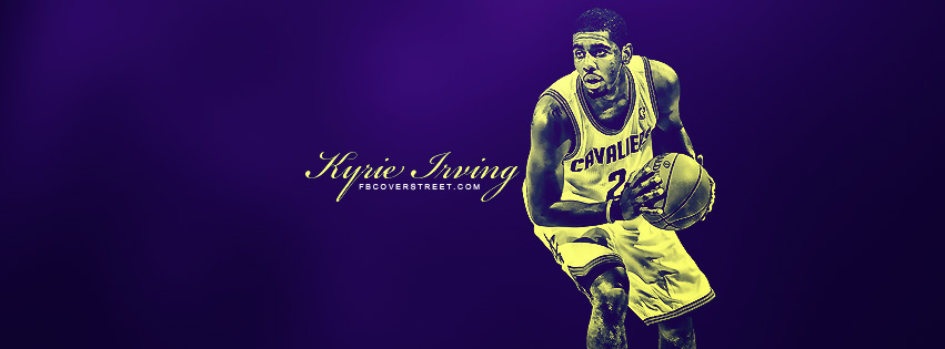 Kyrie Irving Cleveland Cavaliers Facebook cover