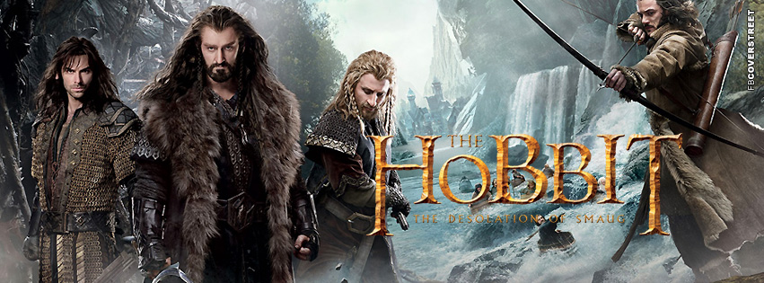 The Hobbit Desolation of Smaug Facebook Cover