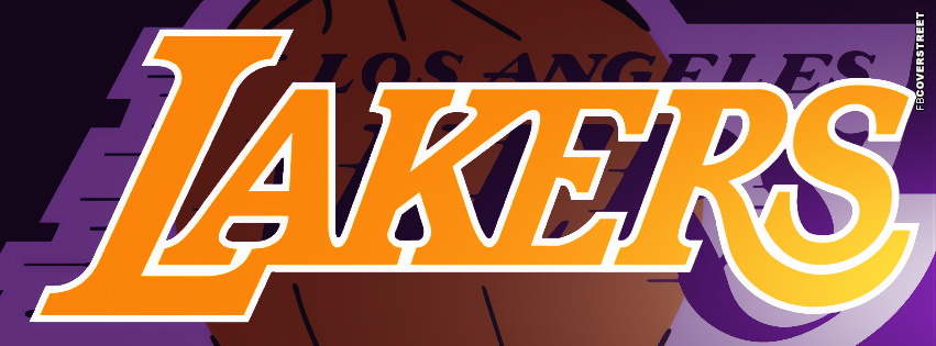 Los Angeles Lakers Logo Facebook Cover  Facebook cover