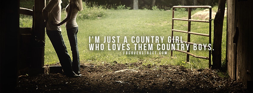 Country Girls Love Country Boys Facebook Cover
