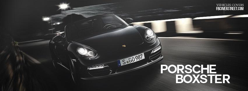 2011 Porsche Boxster 1 Facebook cover