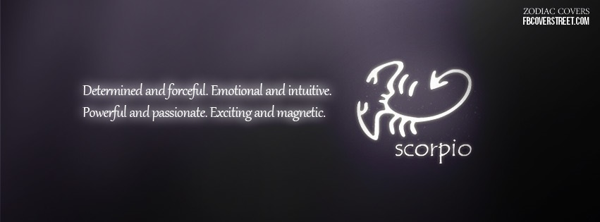 Scorpio 3 Facebook Cover